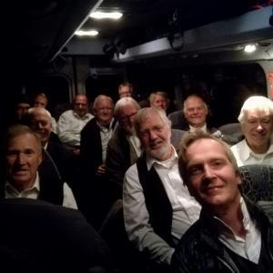 På tur med minibussen